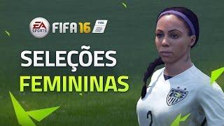 FIFA16最新宣传片: 女足姑娘进军足球游戏你会玩吗