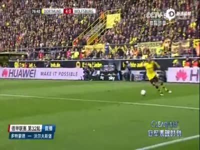 进球视频-姆希塔良传中再献助 奥巴梅杨后点头球