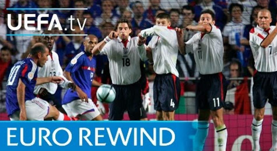 04欧洲杯经典:齐达内力挽狂澜 法国2-1英格兰