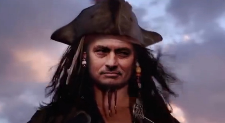 爆笑!加勒比海盗之穆里尼奥船长