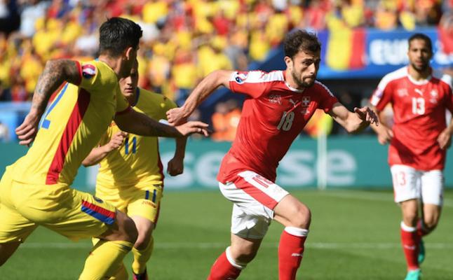 利希施泰纳送点 瑞士1-1战平罗马尼亚