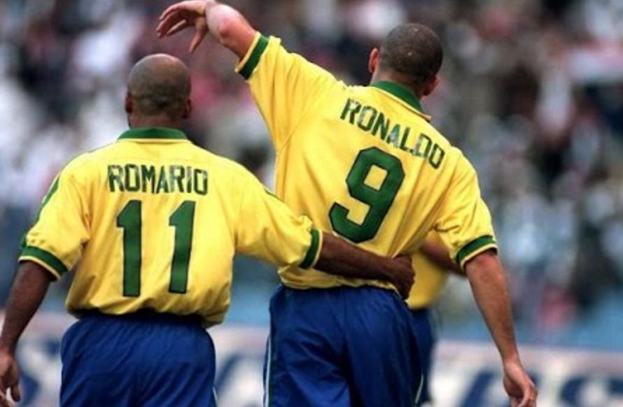 罗纳尔多罗马里奥:史上最强锋线组合!