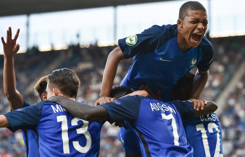 U19欧青赛:法国4-0大胜意大利夺冠