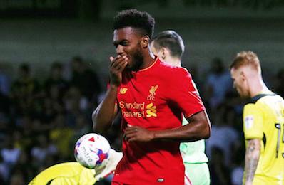 联赛杯:斯图里奇双响 利物浦5-0晋级