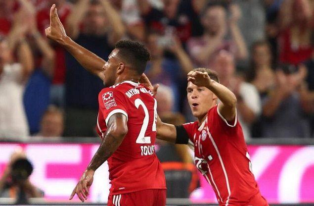 拜仁3-1勒沃库森 小将建功莱万点射