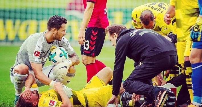 巴特拉施梅尔策伤退 多特0-0弗赖堡