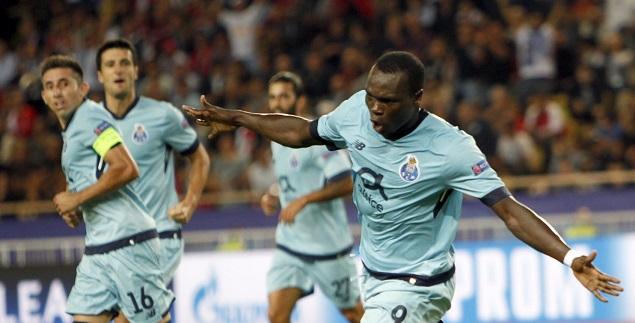 摩纳哥0-3波尔图 阿布巴卡尔梅开二度