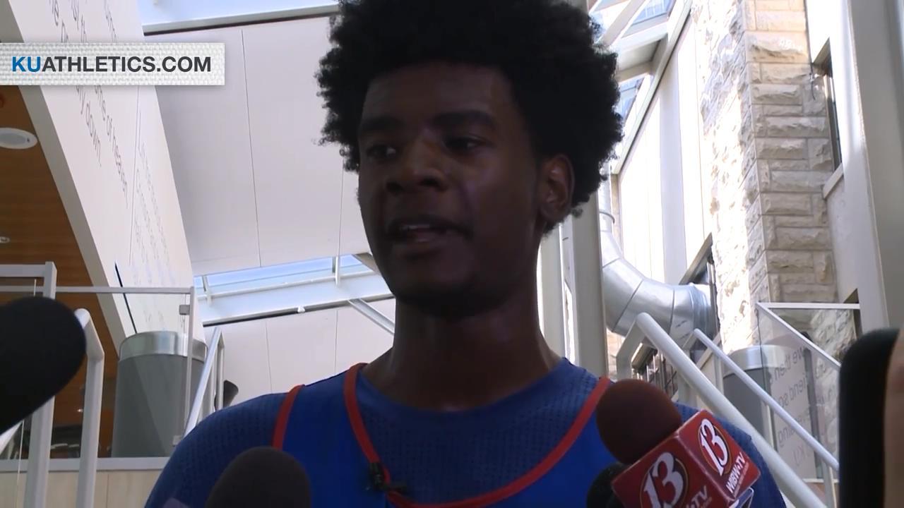 堪萨斯超新星Josh Jackson队内赛后接受采访