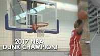 预定17年NBA扣篮大赛冠军!德里克琼斯逆天扣篮表演