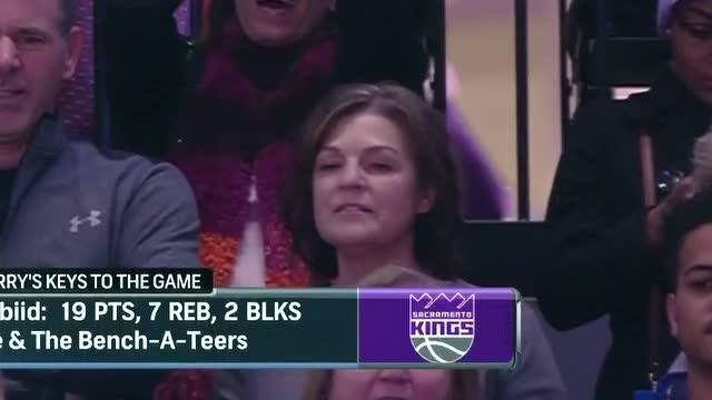 12月27日NBA常规赛 76人vs国王 第四节 录像
