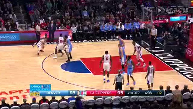12月27日NBA常规赛 掘金vs快船 第四节 录像
