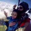 方硕带女友跳伞时求婚