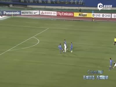 亚冠:哈默德逆天1v4汪嵩破门 富力2-0大阪