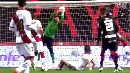 西甲第27轮 巴列卡诺3-1格兰纳达全场集锦