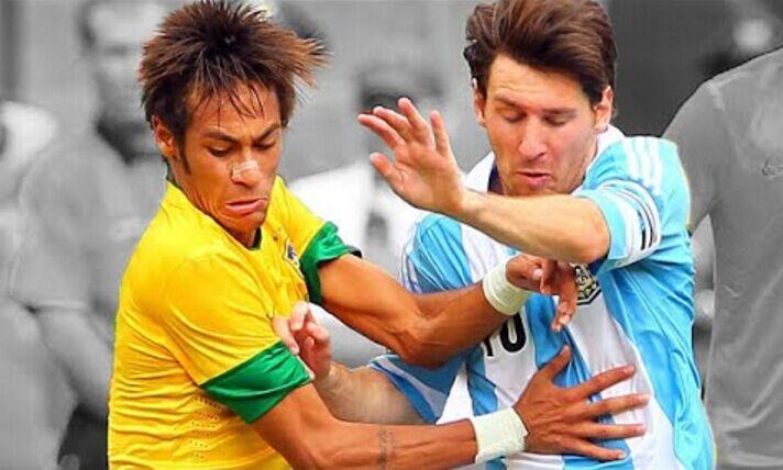 最具风情韵味德比 巴西VS阿根廷