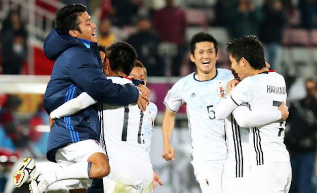 U23亚洲杯-日本3-2逆转韩国夺冠
