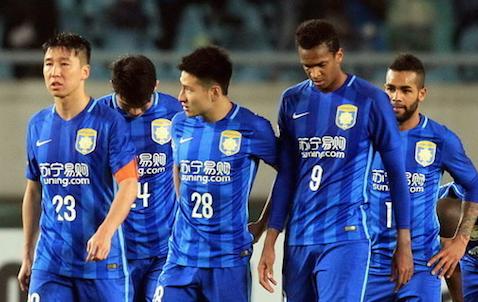 拉米造点李昂染红 江苏苏宁1-2东京FC