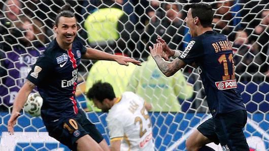法国杯-帕斯托雷天使破门 巴黎2-1里尔夺冠