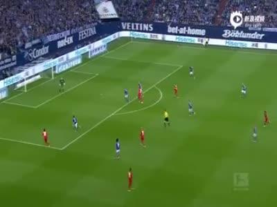 亨特拉尔点球被扑 沙尔克04遭勒沃库森逆转