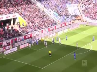 视频-莫德斯特里瑟各入两球 科隆4-1达姆施塔特
