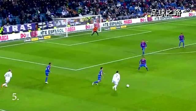 足球欣赏丨10个只有他才能打进的远射