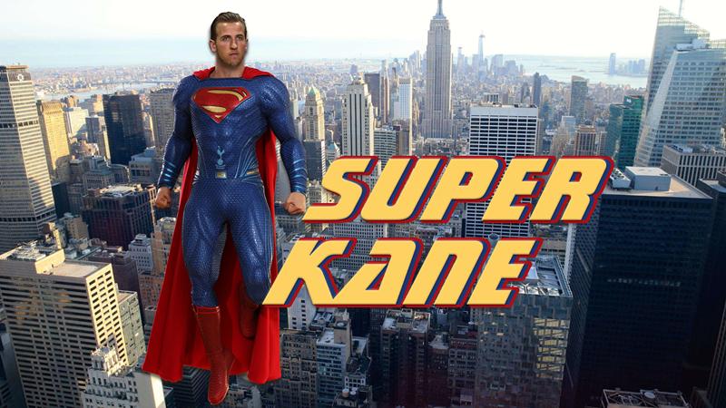 哈里凯恩化身超人 绝地求生拯救热刺