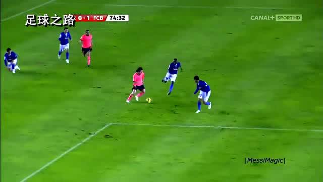足球欣赏丨梅西的15个有趣的表演瞬间