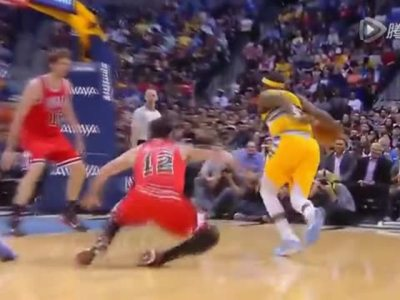 NBA2014-15赛季10大晃人脚踝终结 集锦 超清