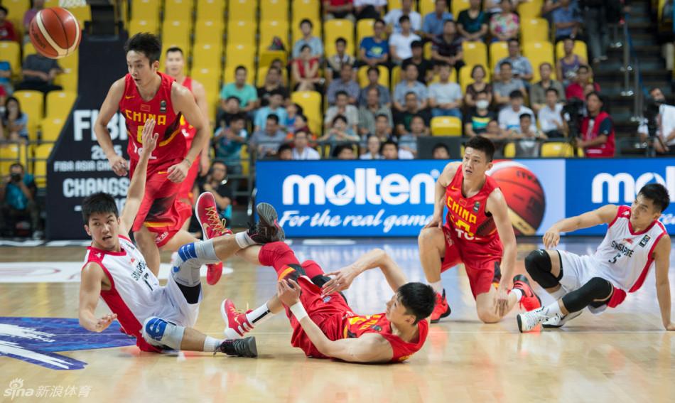 9月23日男篮亚锦赛中国vs新加坡视频集锦