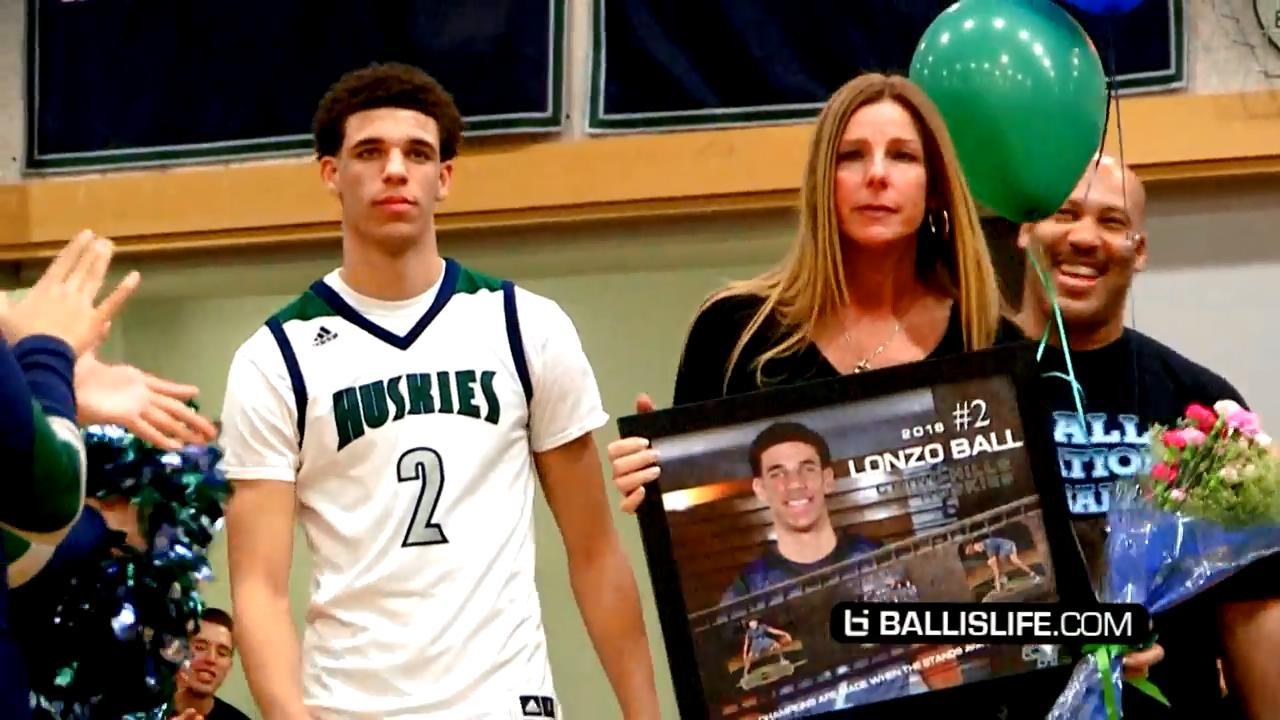 UCLA未来领袖!2016届全美第一控卫Lonzo Ball劲爆集锦